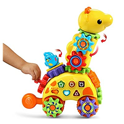 VTech GearZooz Spin & Laugh Gearaffe: Toys & Games