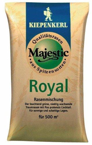Kiepenkerl Majestic Royal 10kg Rasensaat für Schattenrasen, Rasenmischung