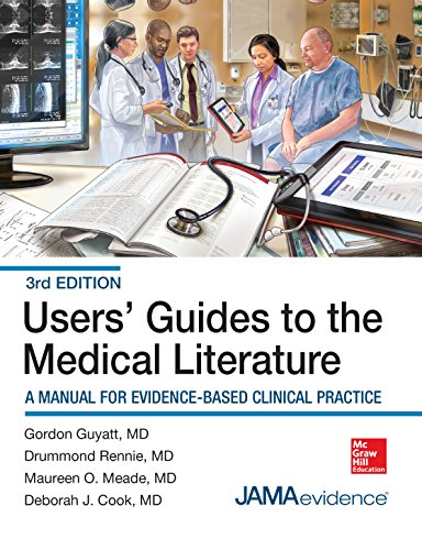 Users' Guides to the Medical Literature: A Manual for Evidence-Based Clinical Practice, 3E (Users Guides to the Medical Literature) (Jama Users Guides To The Medical Literature)
