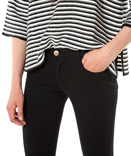 LANIDOR - Pantalones Avercamp, Mujer, Talla 34, Color Negro