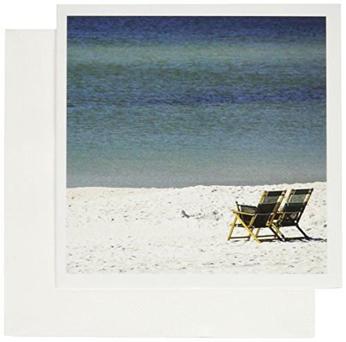 - 3dRose Adirondack Chairs, Fort Walton Beach, Florida - US10 FVI0017 - Franklin Viola - Greeting Cards, 6 x 6 inches, set of 12 (gc_89128_2)