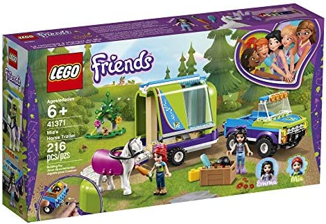 Lego Friends 41371 - Mias 4x4 mit Pferdeanhänger, Neu 2019 (216 Teile)