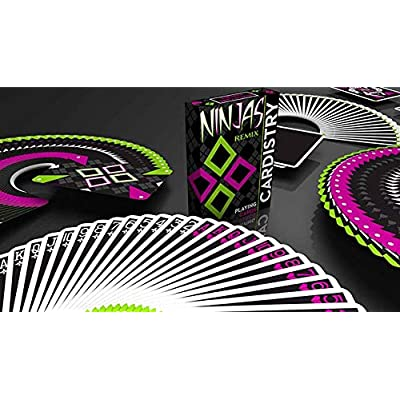 MJM Limited Edition Cardistry Ninjas Remix by De'vo: Toys & Games