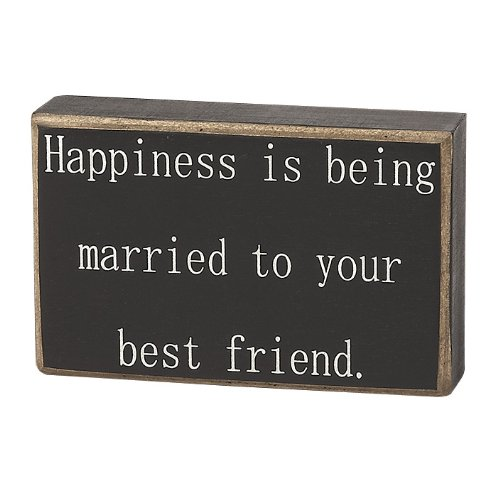 Collins Happiness Being Married Decorative