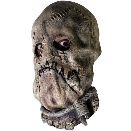 Rubie's Men's Batman The Dark Knight Scarecrow Mask, Multicolor One -