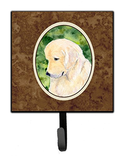 Caroline's Treasures SS8757SH4 Golden Retriever Leash Holder or Key Hook, Small, ()