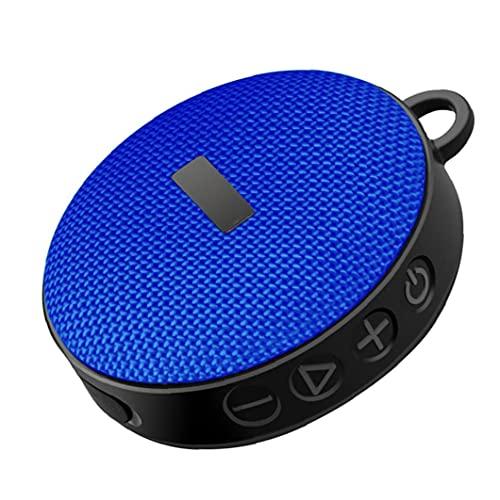Fiets Speaker Bluetooth Speaker Draadloze Fiets Speaker Mini Draagbare Outdoor Waterdichte Outdoor Rijden Blauw