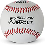 Precision Impact Flex-Balls: Low Impact Safety Practice Baseballs for Kids Confidence Training