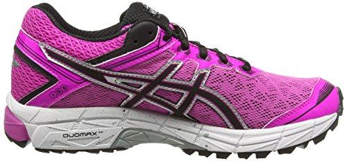 Asics Gt-1000 4 G-tx - Zapatillas de running Mujer Rosa (Pink Glow/Onyx/Royal Burgundy 3599)