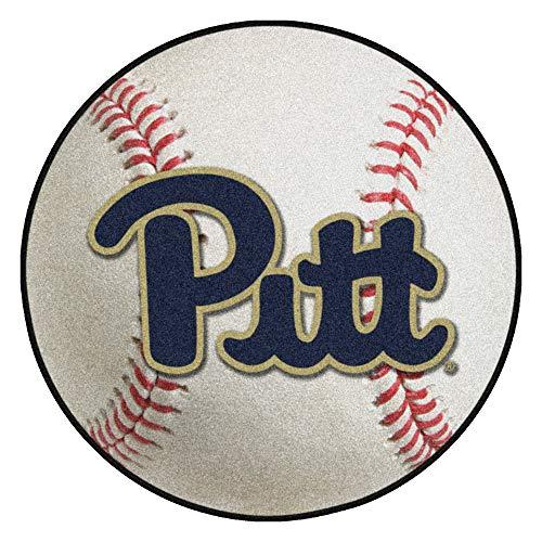 FANMATS NCAA University of Pittsburgh Panthers Nylon Face Baseball Rug