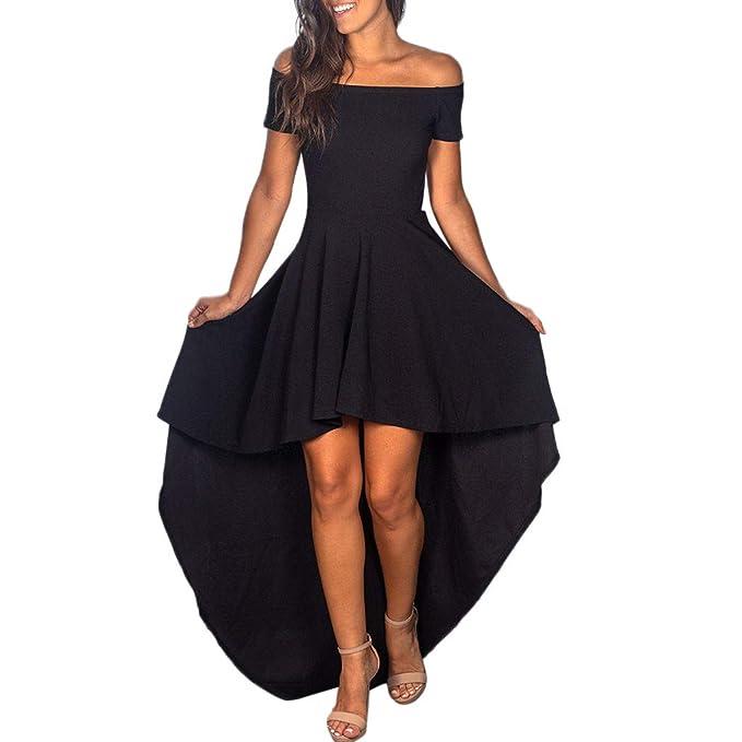 new concept ebcbd b1316 Worsworthy Vestito Lungo Elegante Donna Vestiti Cerimonia ...