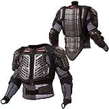 コミネ KOMINE バイク 胸部プロテクター X-セーフティ ジャケット アウター ブラック L 04-677 SK-677