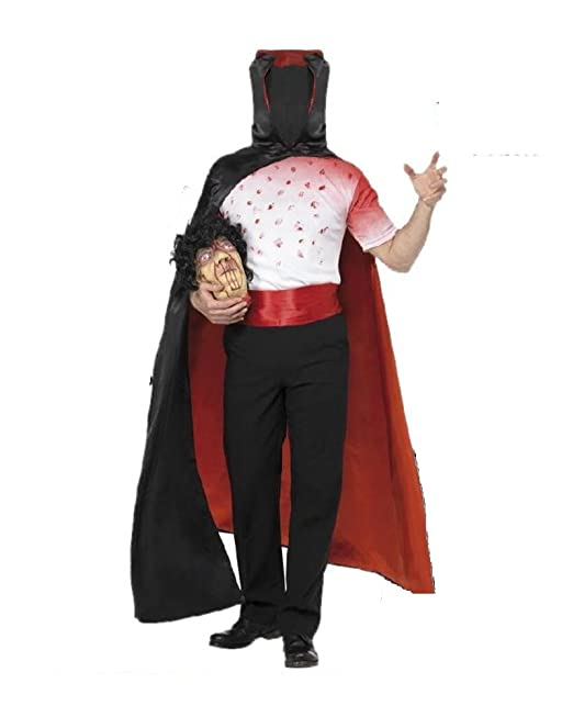 SMIFFYS Costume Halloween Uomo Senza Testa - Travestimento-M  Amazon.it   Abbigliamento b0c7e3736951