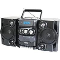 NAXA NPB428 Portable CD/MP3 Player with AM/FM Radio, Detachable Speakers, Remote & USB Inputs by Naxa Electronics
