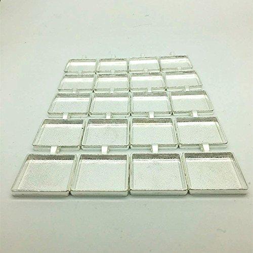 IGOGO Square Pendant Cabochon Settings product image
