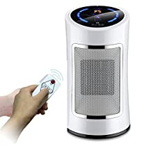 1500W Heater, Remote Control And Touch Screen Operation, PTC Ceramic Heater, Home Portable Fan Heater