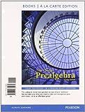 Prealgebra, Books a la Carte Edition, Carson, Tom, 0321782968
