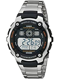Men's AE2000WD-1AV Resin and Stainless Steel Sport Watch