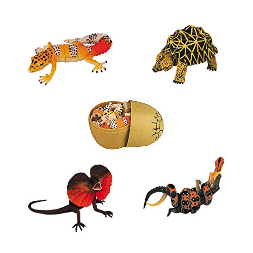Assorted 4pcs/set of Ukenn 2nd Generation 3d Reptiles Animal Puzzles Diy Models Kids Educational Toy 5466]()