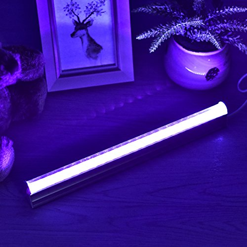 UV LED Black Light Fixtures, Leciel 6W Portable Blacklight