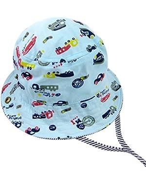 Baby & Toddler Boy' Cute Cartoon Car Brim Sun Protection Hat