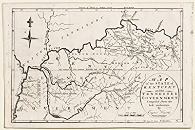A Map of the State of Kentucky & the Tennessee Government