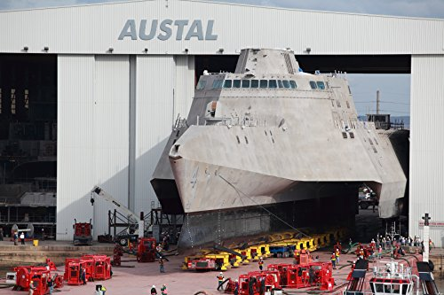 the-littoral-combat-ship-pre-commissioning-unit-pcu-coronado-lcs-4-is-rolled-out-at-the-austal-u