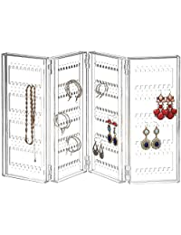 Saganizer earring holder and jewelry organizer Earring organizer holds up 140 pairs of earrings