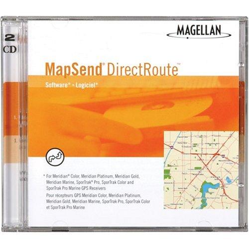 (Magellan DirectRoute North America Street Map VGA Video Card)