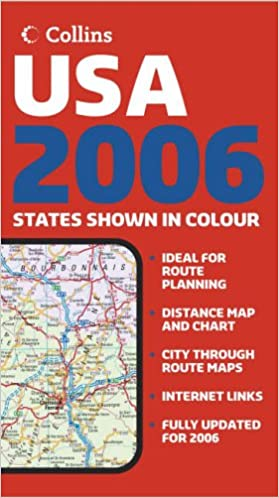 Buy Collins USA Road Map Book Online at Low Prices in India