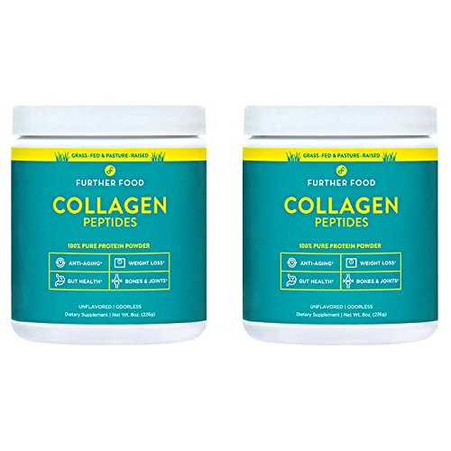 Further Food Collagen Peptides Protein Powder |2-Pack by Further Foods