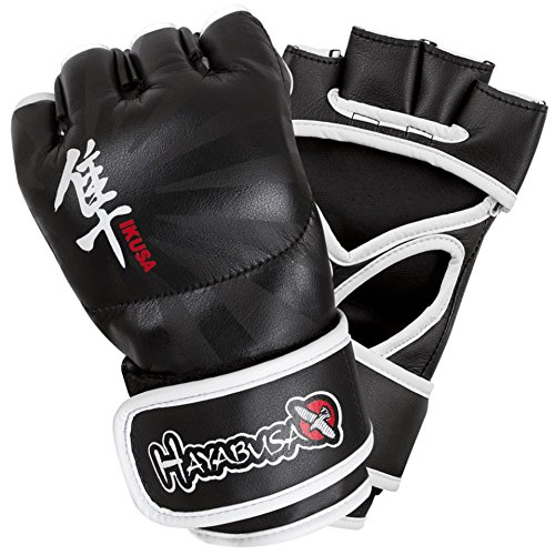 Hayabusa Ikusa MMA Gloves, 4-Ounce/X-Large, Black