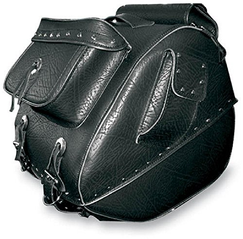 All American Rider Large Studded Trunk Bag with Exterior Pockets (All American Rider)