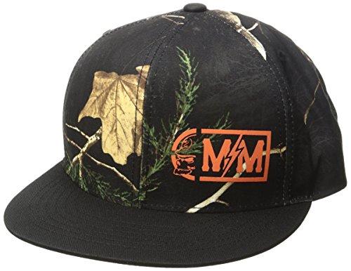 Metal Mulisha Men's Point Snapback Hat, Black, One ()