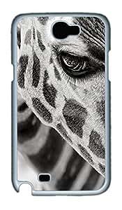 Animals 066 TPU Silicone Case Cover for Samsung Galaxy Note II N7100 White wangjiang maoyi