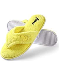 Amazon.com: Yellow - Slippers / Shoes: Clothing, Shoes & Jewelry