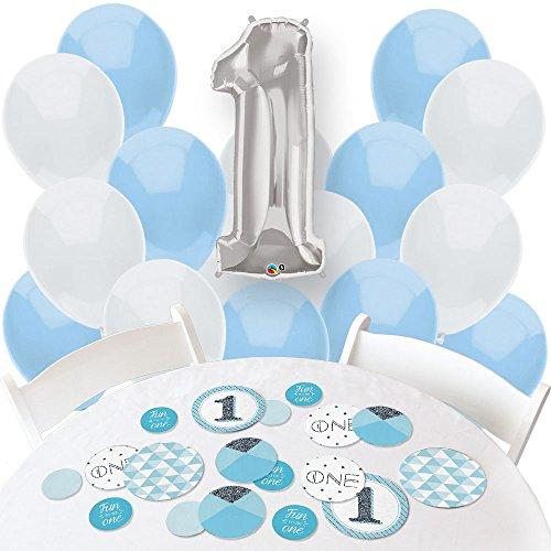 1st Birthday Boy Balloon - 9