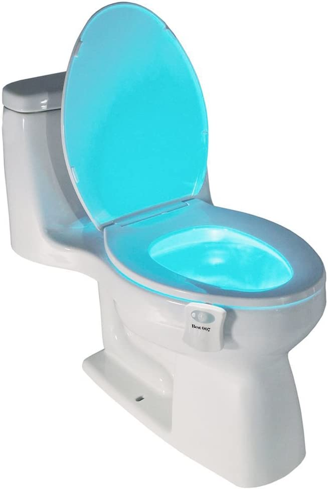 Best Light Motion Activated Toilet Night Light Toilet Nightlight