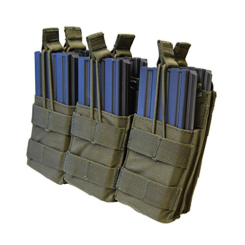 (Condor Triple Stacker Mag Pouch Olive Drab by Condor Outdoor)