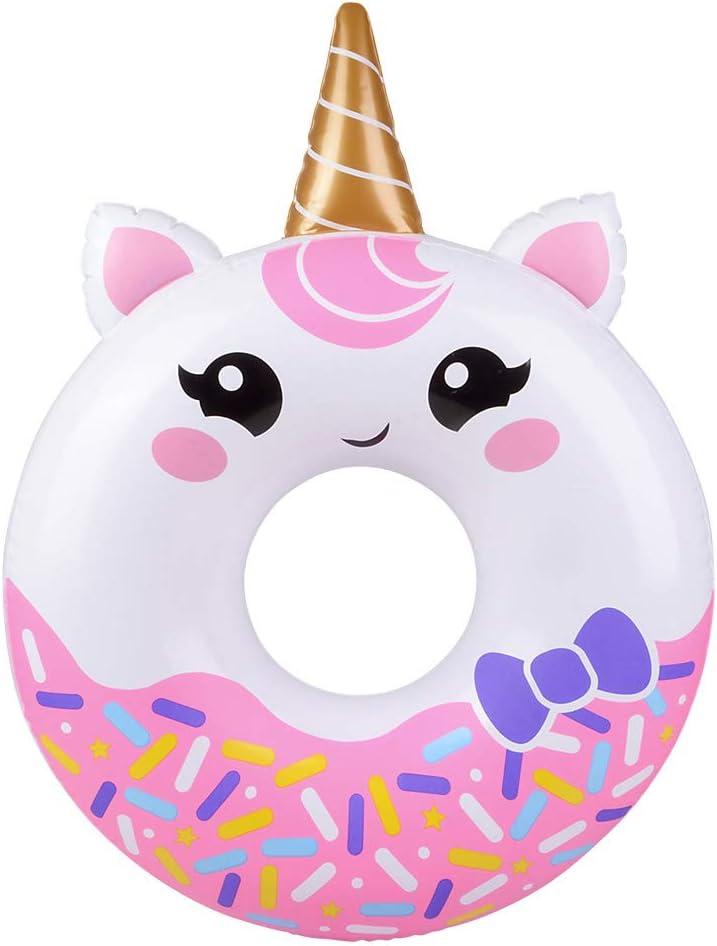 Rhode Island Novelty 32 Inch Unicorn Donut One Dozen per Order