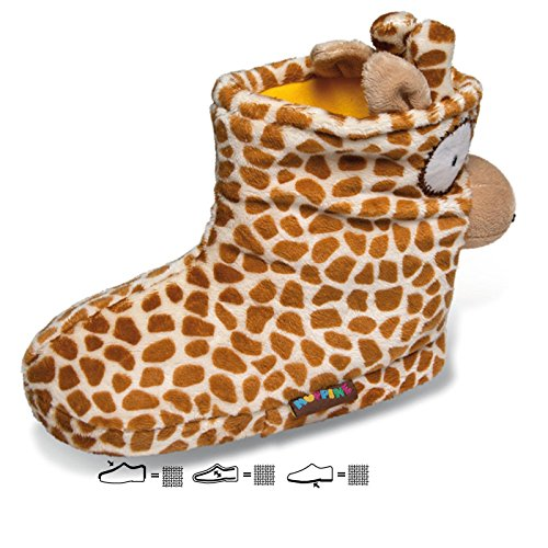 Sams Animaux Chaussons girafe Boots Chaussons drôle humoristique chaud, BoGi