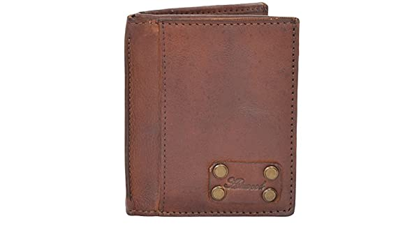65e574f22cd2b Ashwood Shoreditch Mens Leather Wallet Brown at Amazon Men s Clothing store