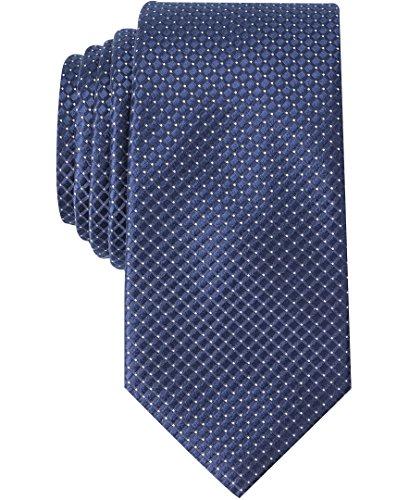 (Nautica Men's Flare Neat Tie, navy/white, One)