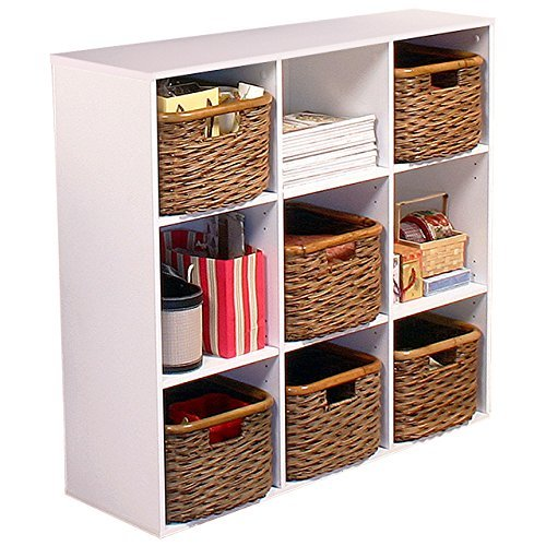 California Bookcase Cabinet - Venture Horizon Stackable Project Center Bookcase- White