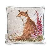 Wrendale Designs - 'Foxgloves' - Fox Cushion by Wrendale Designs