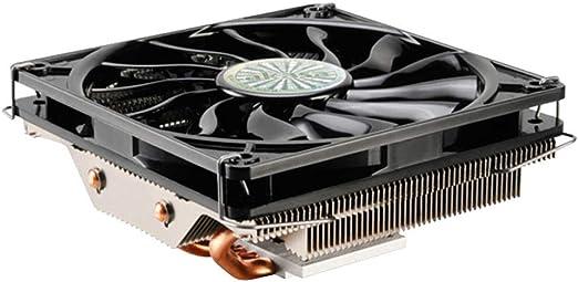 Ventilador de refrigeración de la CPU Ultrafino 4 Pin 4 Heat Pipes ...