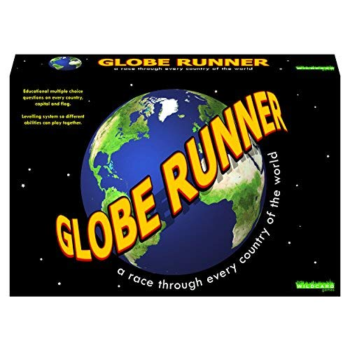 - Globe Runner - Educational Family Board Game for Both Kids and Adults That Races Around The World Through Every Country