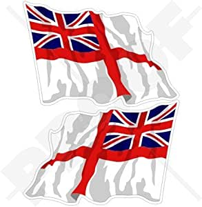 Amazon Com British Royal Navy Waving Flag Naval White