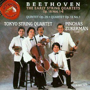 Beethoven: The Early String Quartets (Beethoven String Quartets Best Recordings)