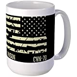 CafePress - USS Carl Vinson Large Mug - Coffee Mug, Large 15 oz. White Coffee Cup
